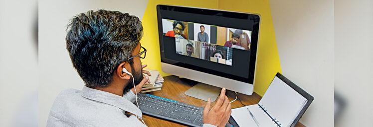 Kegagapan (ber)Sekolah Online