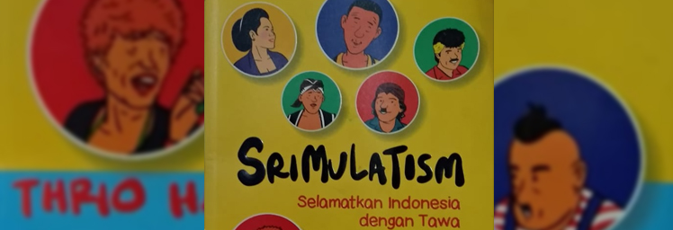 Review Buku Komedi : Srimulatism, Selamatkan Indonesia dengan Tawa