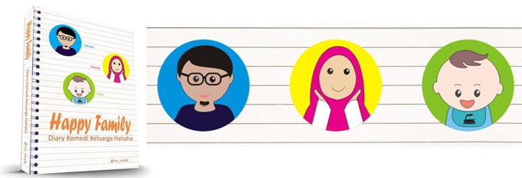 Happy Family, Diary Komedi Keluarga Hahaha